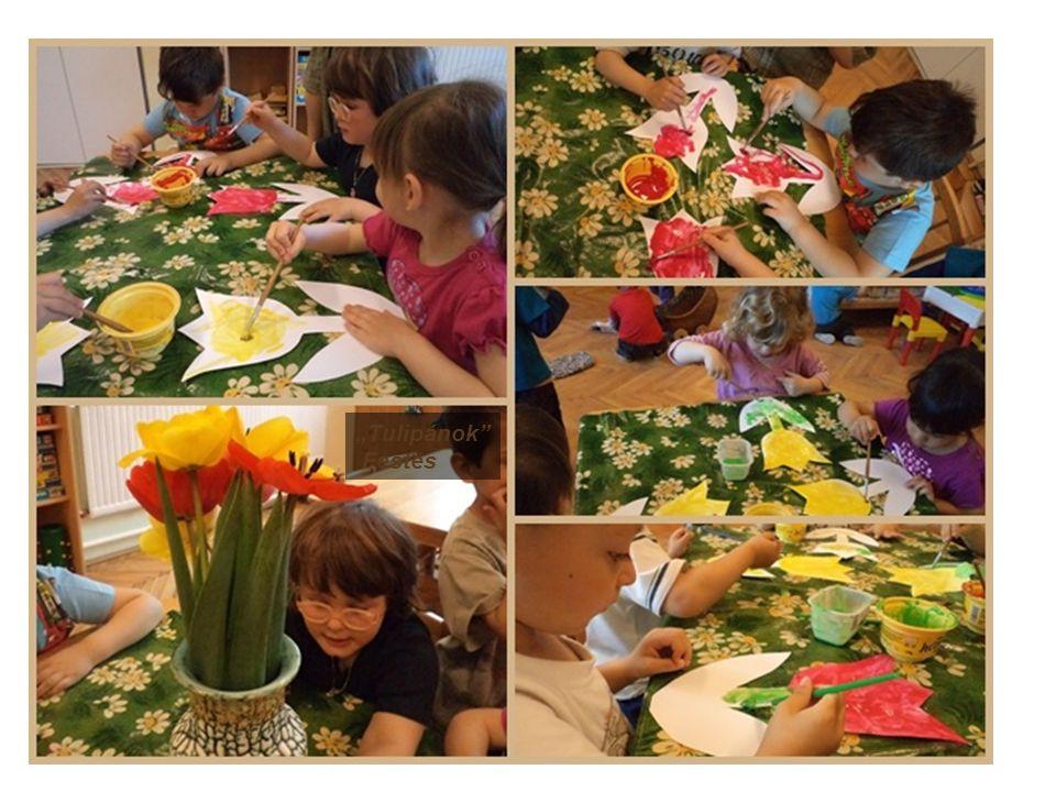 """""""Tulipánok"""" Festés"""