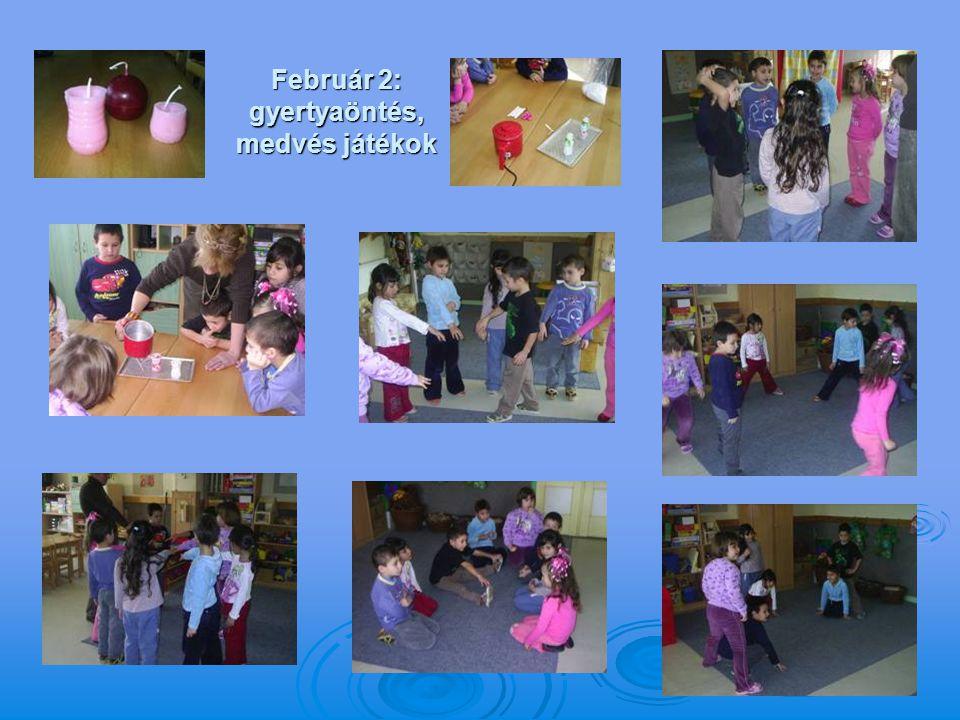 Február 2: gyertyaöntés, medvés játékok
