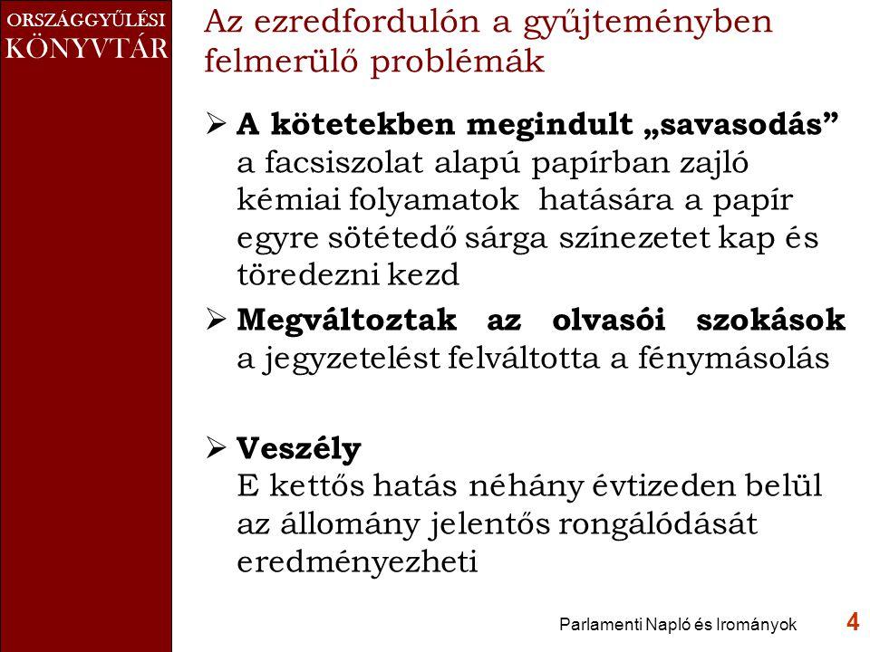 ORSZÁGGY Ű LÉSI KÖNYVTÁR Keresés eredménye Parlamenti Napló és Irományok 15 Deák Ferenc