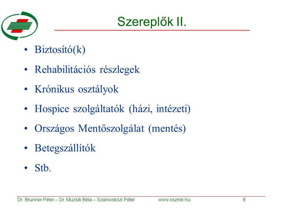 Szereplők II.