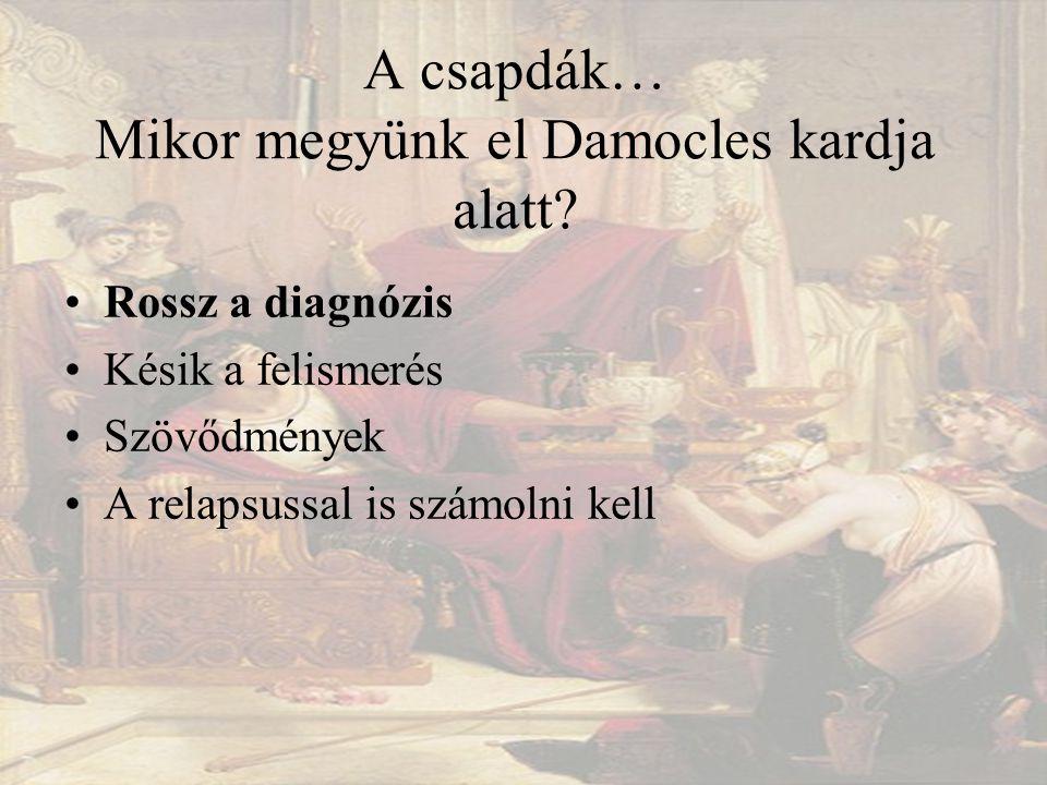 A csapdák… Mikor megyünk el Damocles kardja alatt.
