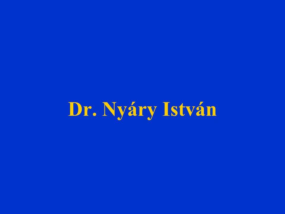 Dr. Nyáry István
