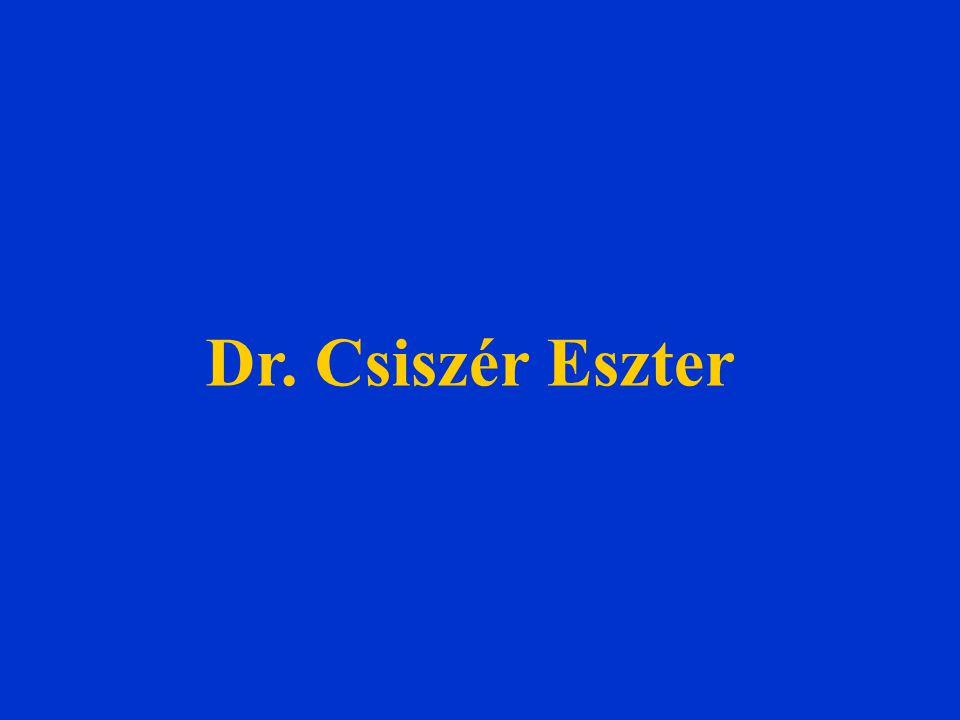 Dr. Csiszér Eszter