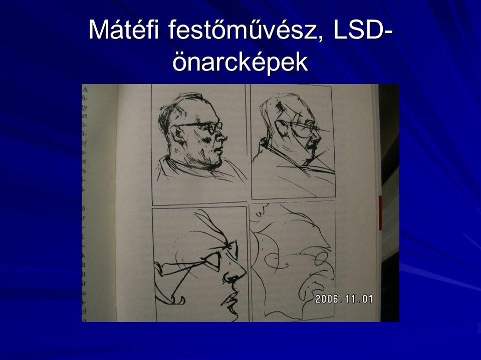 Mátéfi festőművész, LSD- önarcképek