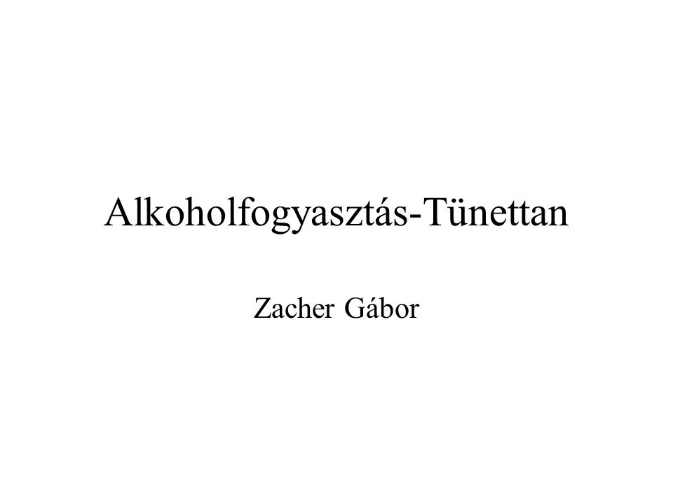 Mi az alkohol.