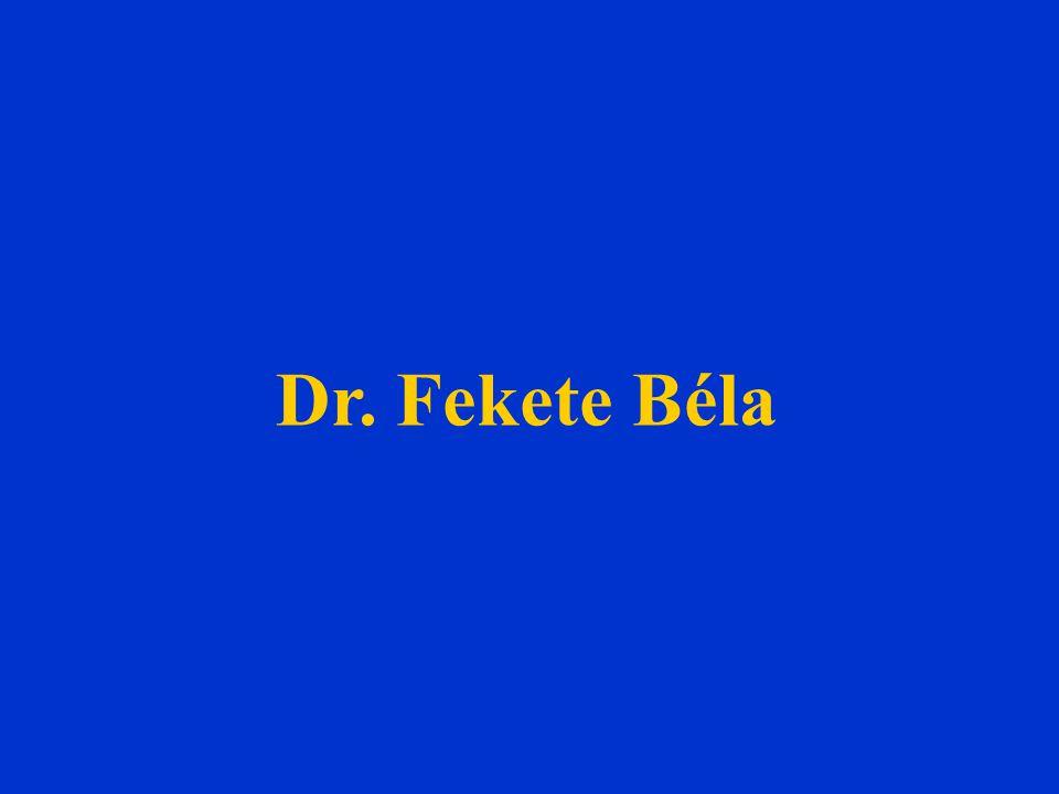 Dr. Fekete Béla