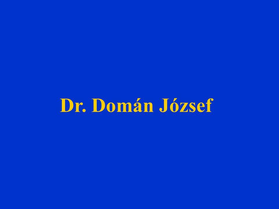 Dr. Domán József