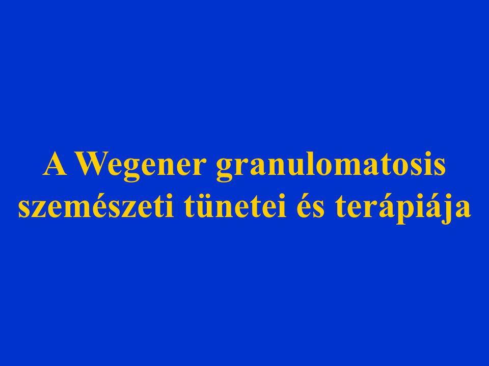 A Wegener granulomatosis szemészeti tünetei és terápiája