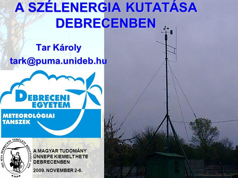 2 Évente beépített szélerőmű kapacitás Európában [MW]