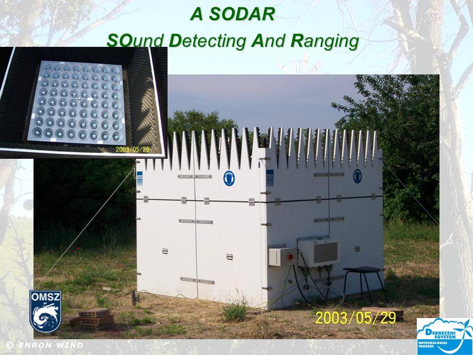 Alkalmazás: A modell megalkotása a szélerőmű közelében hosszú idejű szélsebesség mérések alapján.