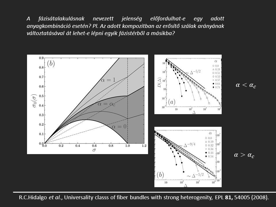Az 5.4-es ábrán látható, hogy az analitikusan meghatározott konstitutív görbékkel le lehet írni azt az esetet is, amikor a szálak a maximális csúszás elérésekor eltörnek, és nem végtelen teherbírású elemként viselkednek.