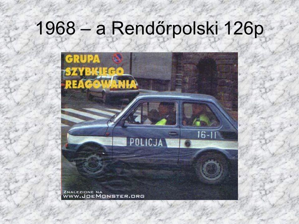 1968 – a Rendőrpolski 126p