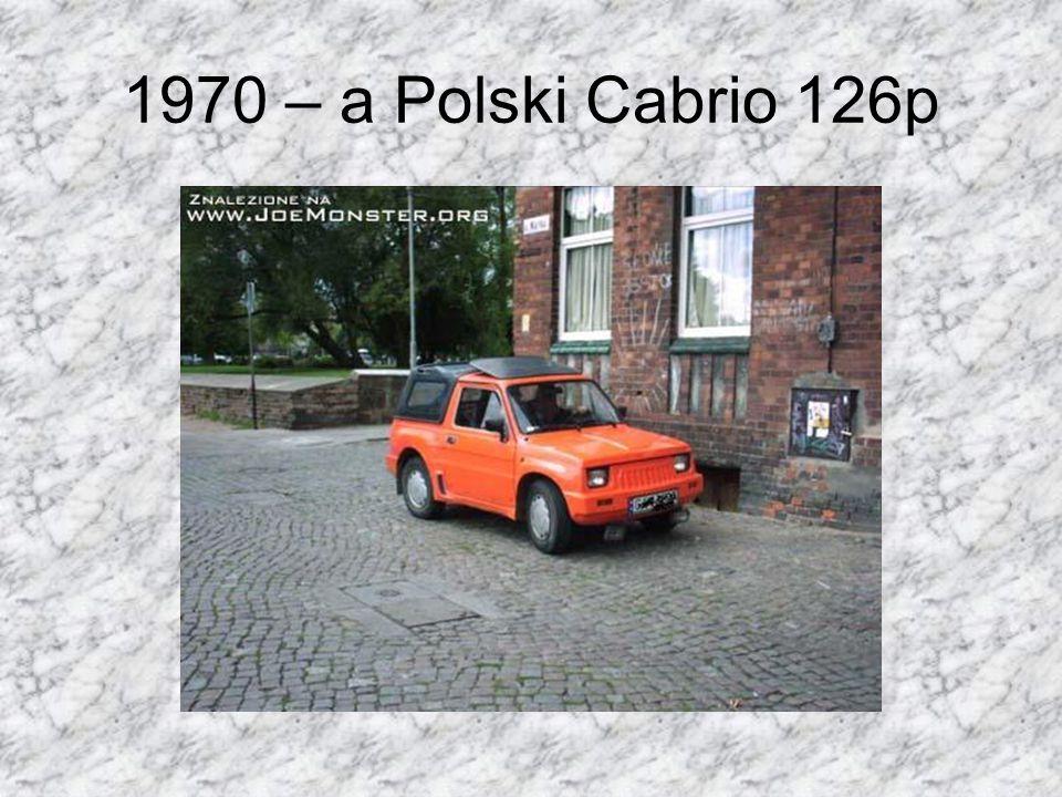 1970 – a Polski Cabrio 126p