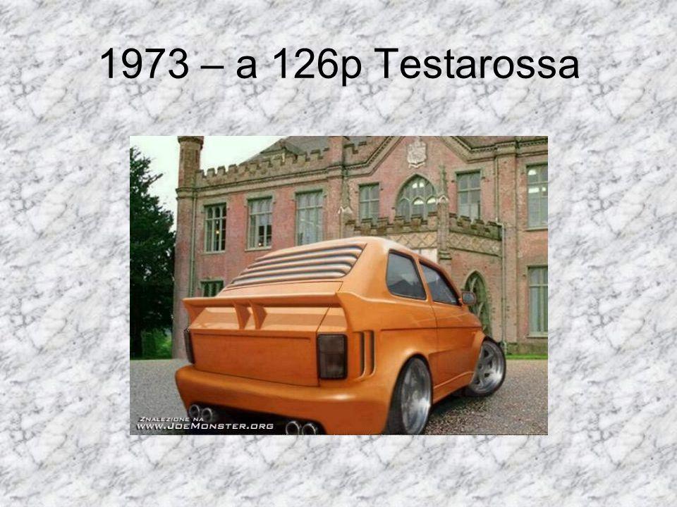 1973 – a 126p Testarossa