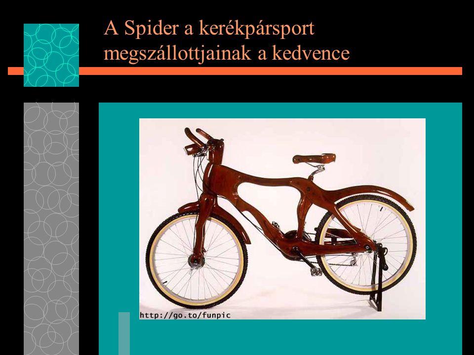 A Spider a kerékpársport megszállottjainak a kedvence