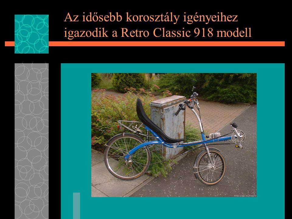 Az idősebb korosztály igényeihez igazodik a Retro Classic 918 modell