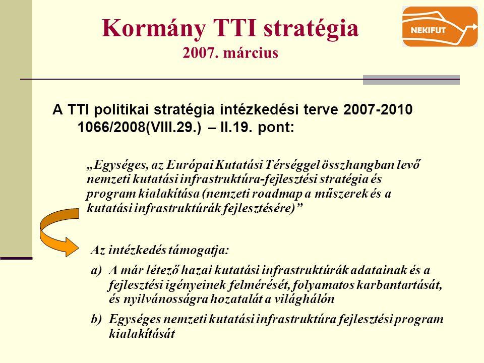 Kormány TTI stratégia 2007.