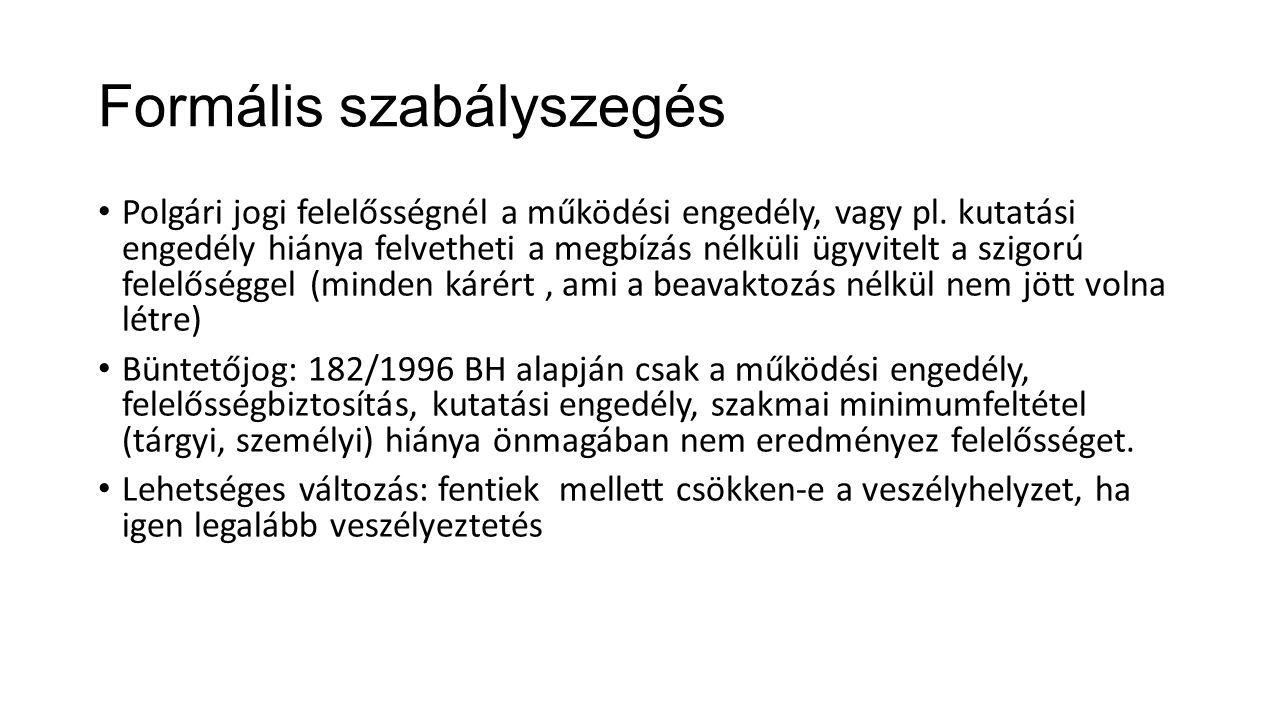 Eljárási kérdések II.