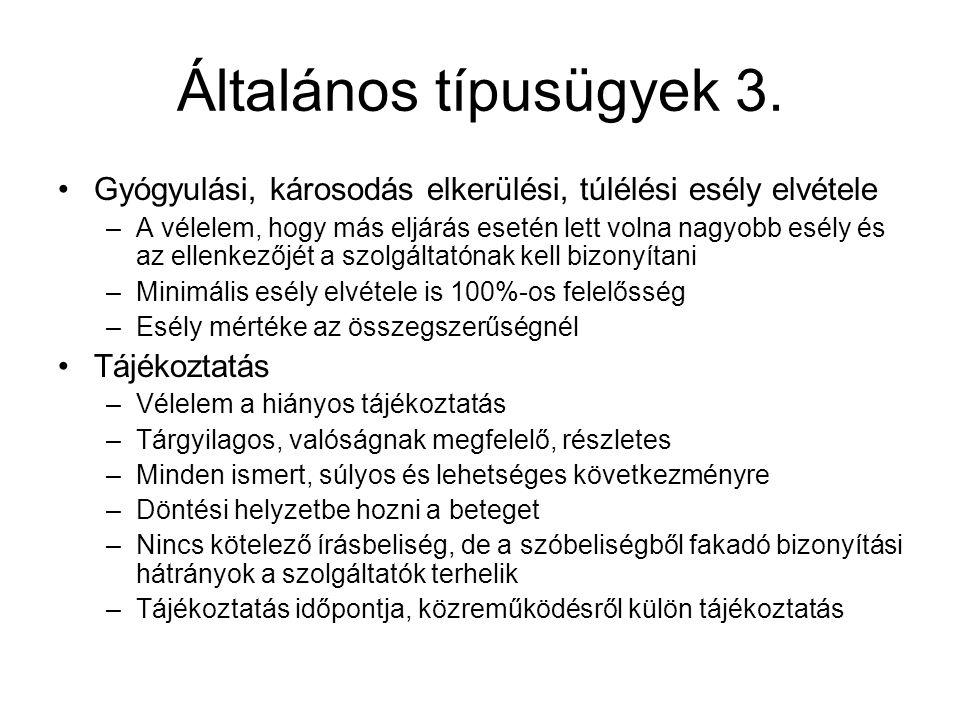 Általános típusügyek 3.