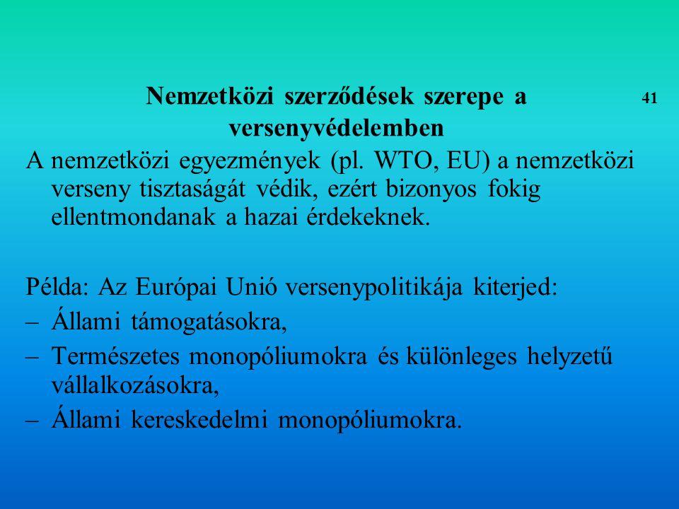 KERESKEDELEM POLITIKA 42