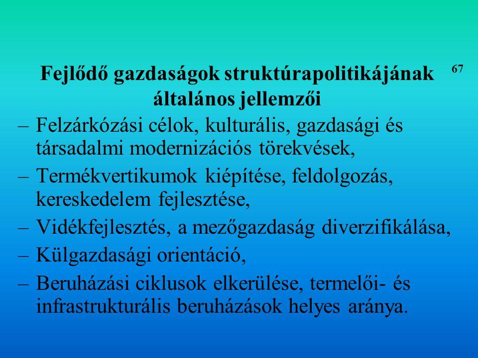 A struktúrapolitika eszközrendszere 1.