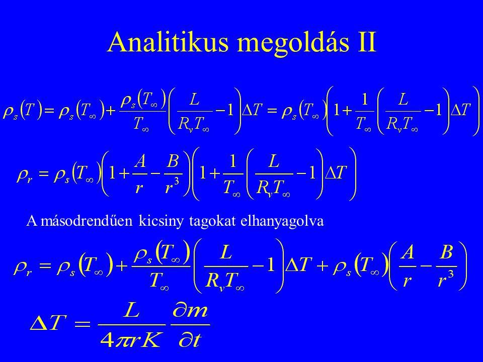 Analitikus megoldás III