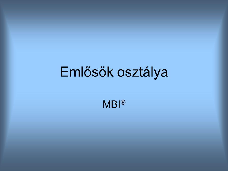 Emlősök osztálya MBI ®