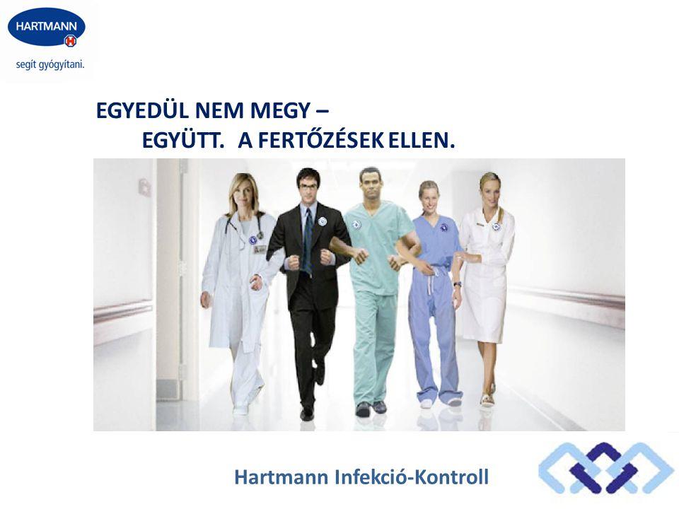 Hartmann Infekció-Kontroll EGYEDÜL NEM MEGY – EGYÜTT. A FERTŐZÉSEK ELLEN.