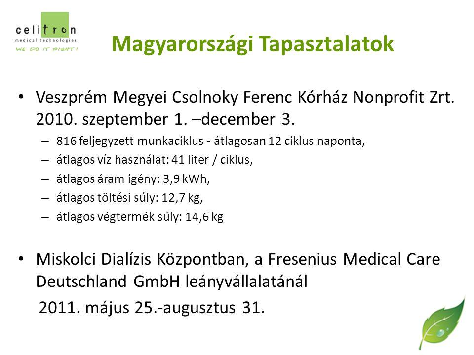 Magyarországi Tapasztalatok Veszprém Megyei Csolnoky Ferenc Kórház Nonprofit Zrt.