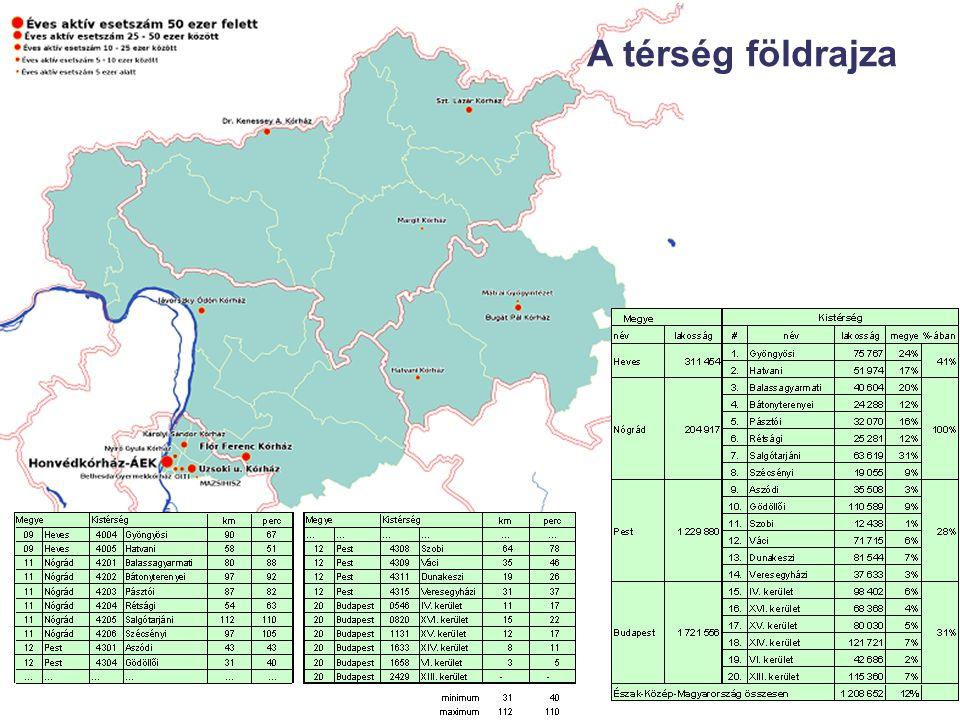 13 A térség földrajza