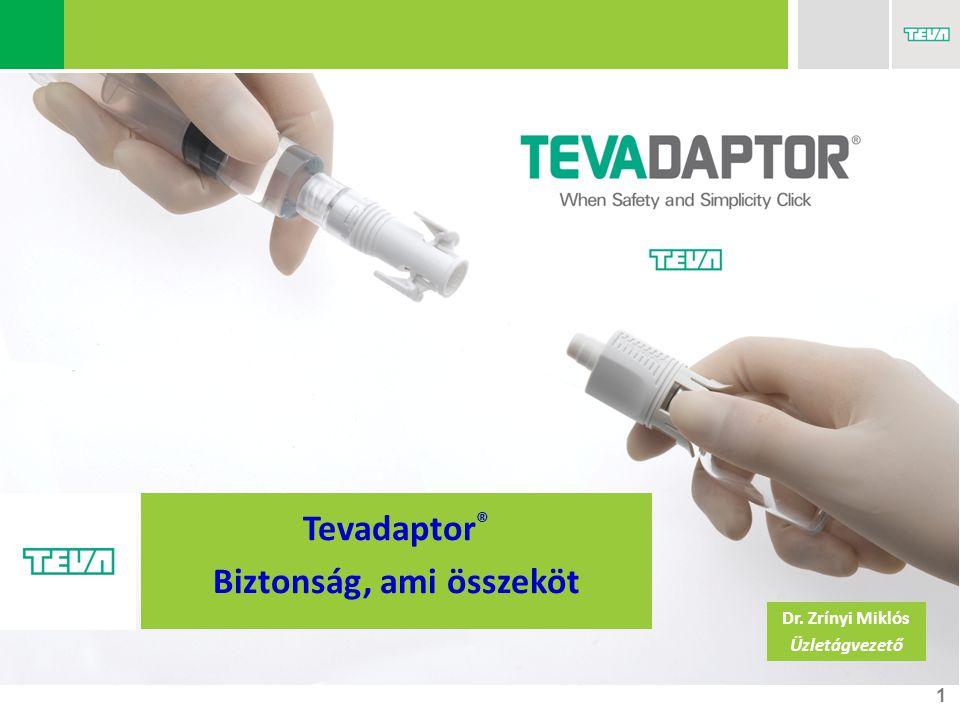 1 Tevadaptor ® Biztonság, ami összeköt Dr. Zrínyi Miklós Üzletágvezető