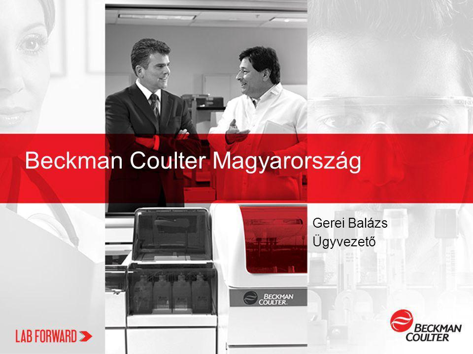 Beckman Coulter Magyarország Gerei Balázs Ügyvezető