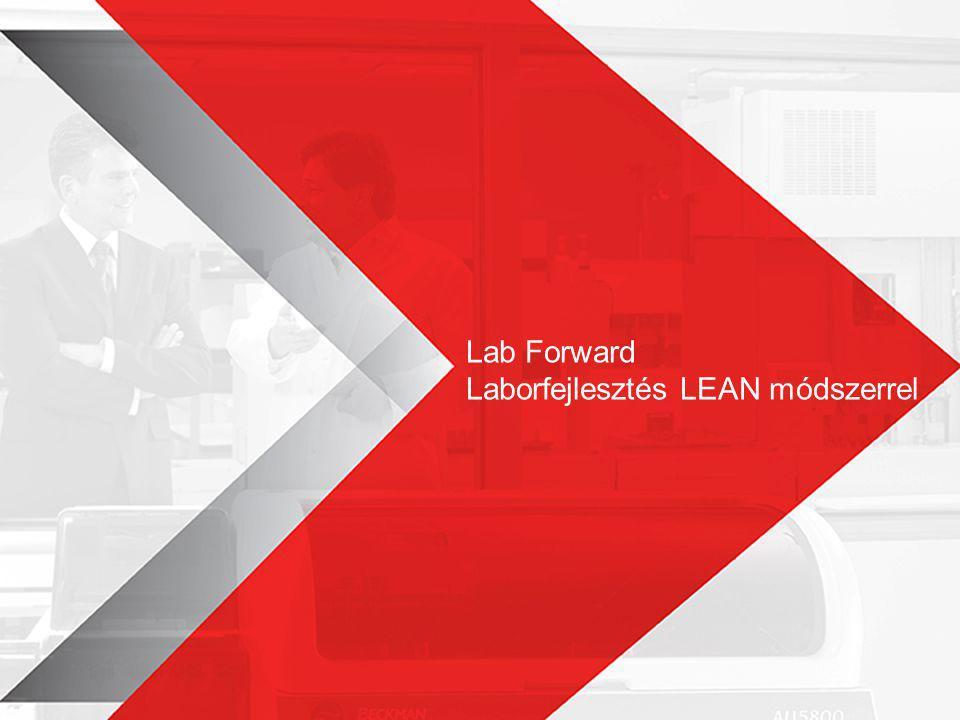 Laborfejlesztés LEAN módszerrel Amennyiben egy kevésbé hatékony folyamatot szakszerűtlenül automatizálunk, egy automatizált, de használhatatlan folyamatot kapunk !