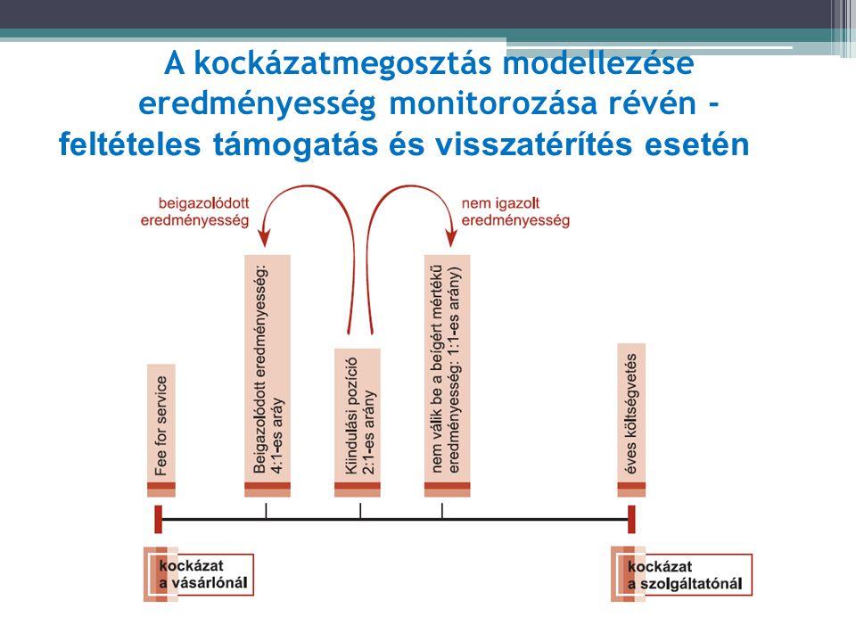 A kockázatmegosztás modellezése eredményesség monitorozása révén - feltételes támogatás és visszatérítés esetén