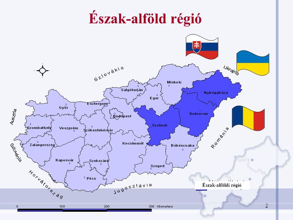 Terület17 729 km 2 (19,1%) Népesség (2007)1 525 317 Népsűrűség (2007)86 fő/km 2 GDP (2006)8 763 million EUR GDP/fő (2006)5 600 EUR Munkanélküliségi ráta (2007)10,8% A mezőgazdaság GDP-ből való részesedése 8,43% Főbb regionális mutatószámok