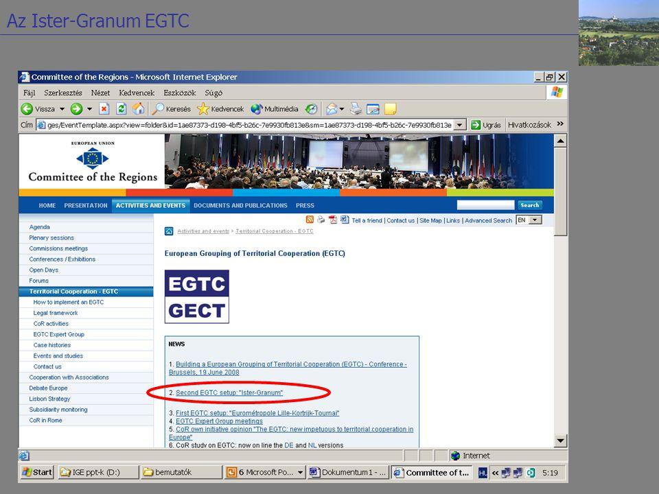 2000. máj. 15.: Szándéknyilatkozat aláírása 2000. okt. 13.: Alapító okirat aláírása 2003. nov. 17.: Az Eurorégió megalapítása 2005. szept. 21.: a stra