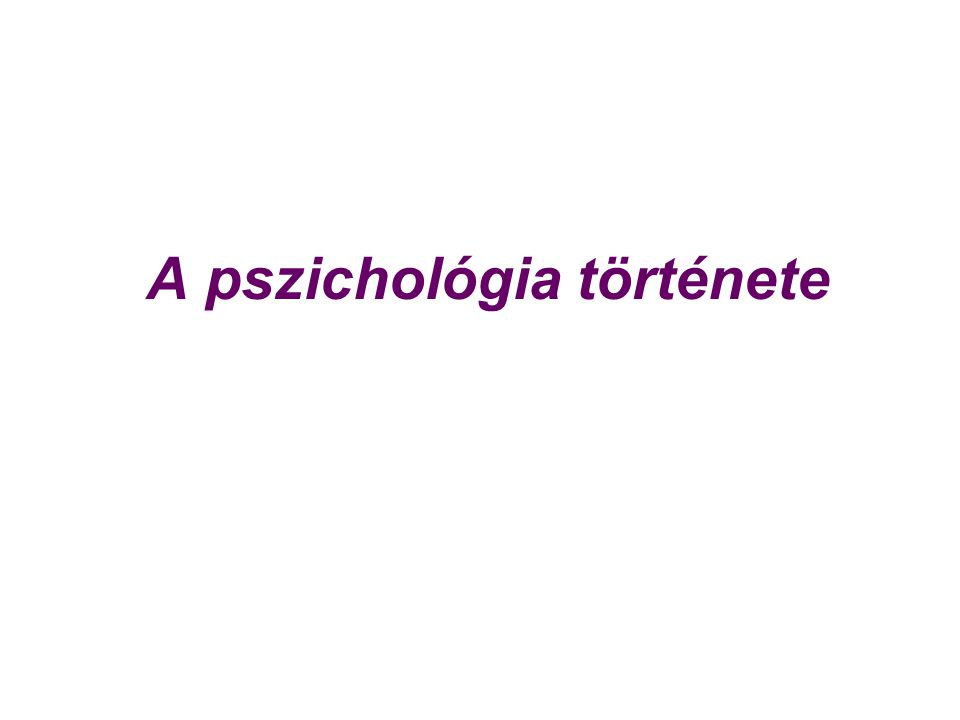 Biológiai nézőpont neurobiológiai folyamatok, féltekei specializáció, motiváció, érzelmek Behaviorista nézőpont viselkedés, inger-válasz, megerősítés, tanulás, kondicionálás Kognitív nézőpont megismerés, észlelés, emlékezés, gondolkodás, problémamegoldás Pszichoanalitikus nézőpont tudattalan, ösztönök, agresszió, elhárító mechanizmusok Fenomenológiai nézőpont szubjektív tapasztalás, önmegvalósítás
