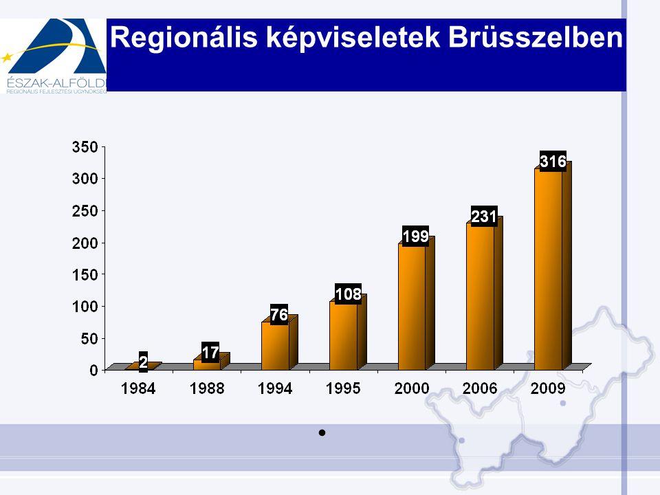 Regionális képviseletek feladatai –Információgyűjtés –Regionális marketing –Támogatási források –Lobbitevékenység