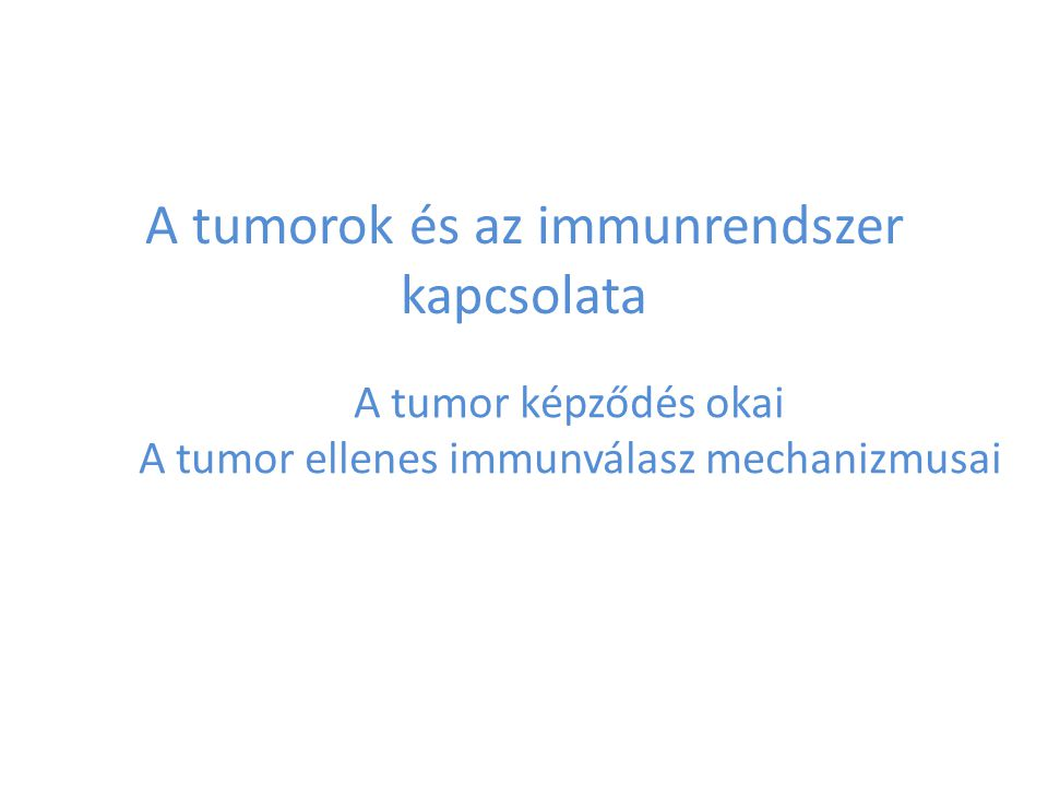 AZ AKTÍV TUMOR-SPECIFIKUS IMMUNTERÁPIA LEHETŐSÉGEI A tumor antigének beviteli módja Tumor protein Tumor protein- derived peptide Anti-idiotipe Ab Vírus-tumor genome Plasmid DNA Modified tumor cell Irradiated tumor cell Heat shock protein Modified DC Mocellin S et al.