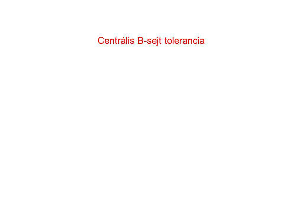 Centrális B-sejt tolerancia