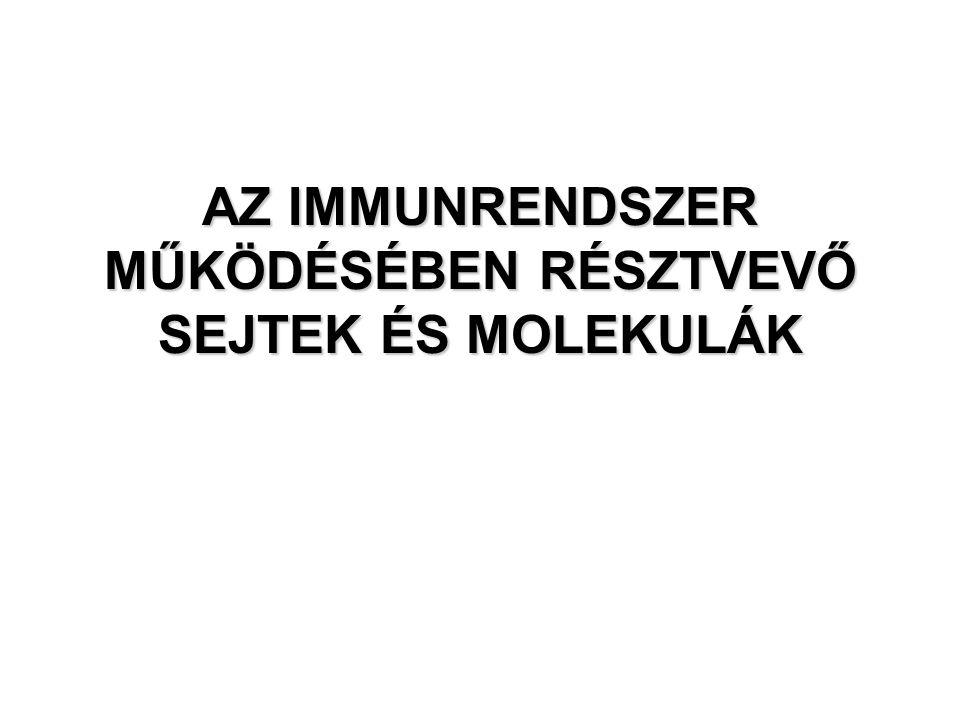 Az oktatási anyagok letölthetők az intézet honlapjáról: www.immunology.unideb.hu Login: student Password: download Évközi demonstrációk várható ideje: 11.