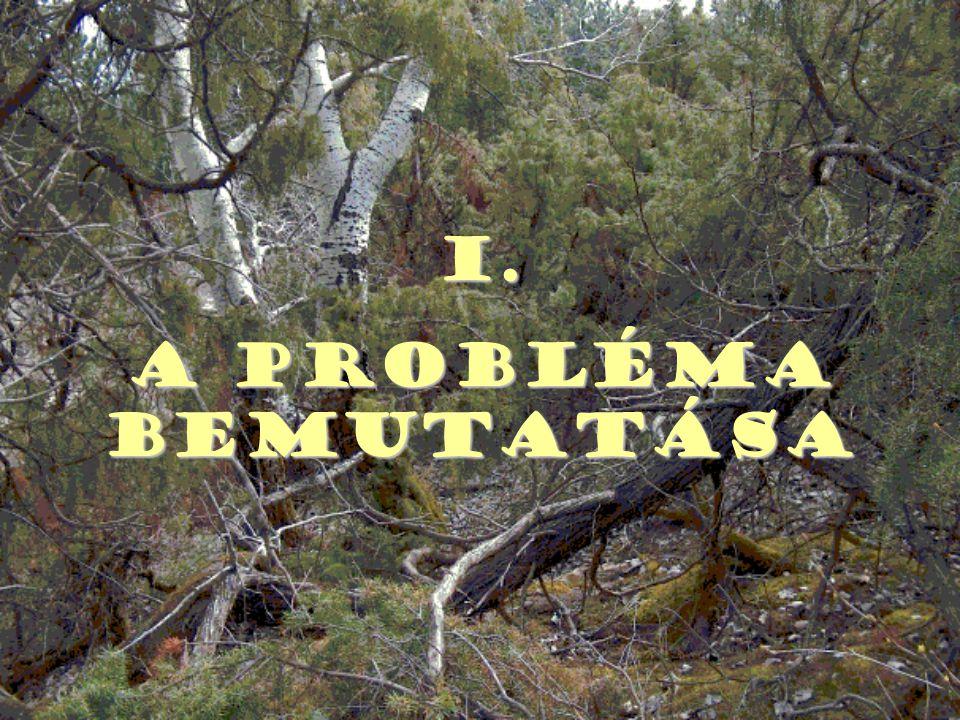 4. Az állami erdőket kezelő szerveket össze kell vonni!