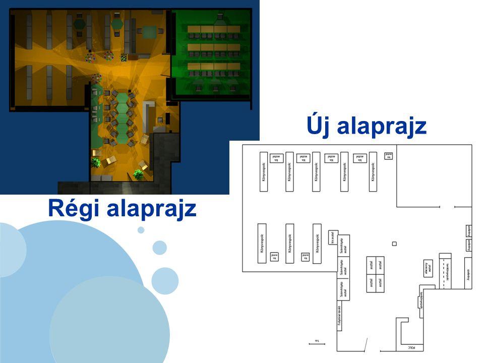 www.company.com Régi alaprajz Új alaprajz