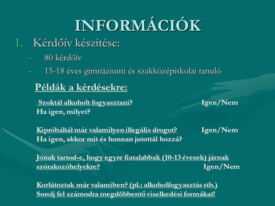 INFORMÁCIÓK 2.