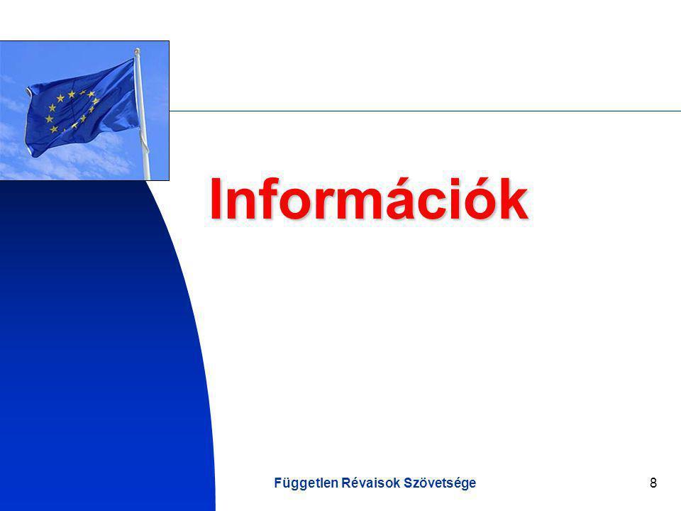 Független Révaisok Szövetsége8 Információk