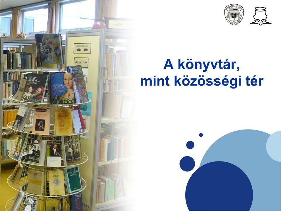 A könyvtár, mint közösségi tér