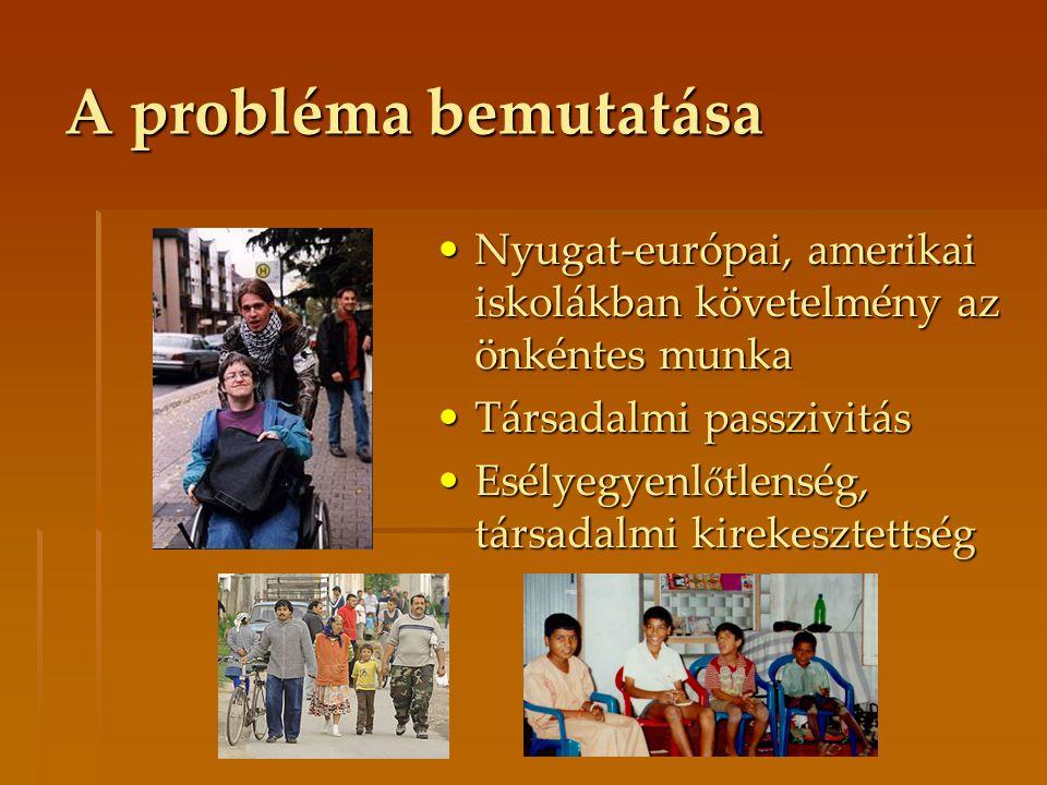 Nyugat-európai, amerikai iskolákban követelmény az önkéntes munkaNyugat-európai, amerikai iskolákban követelmény az önkéntes munka Társadalmi passzivi