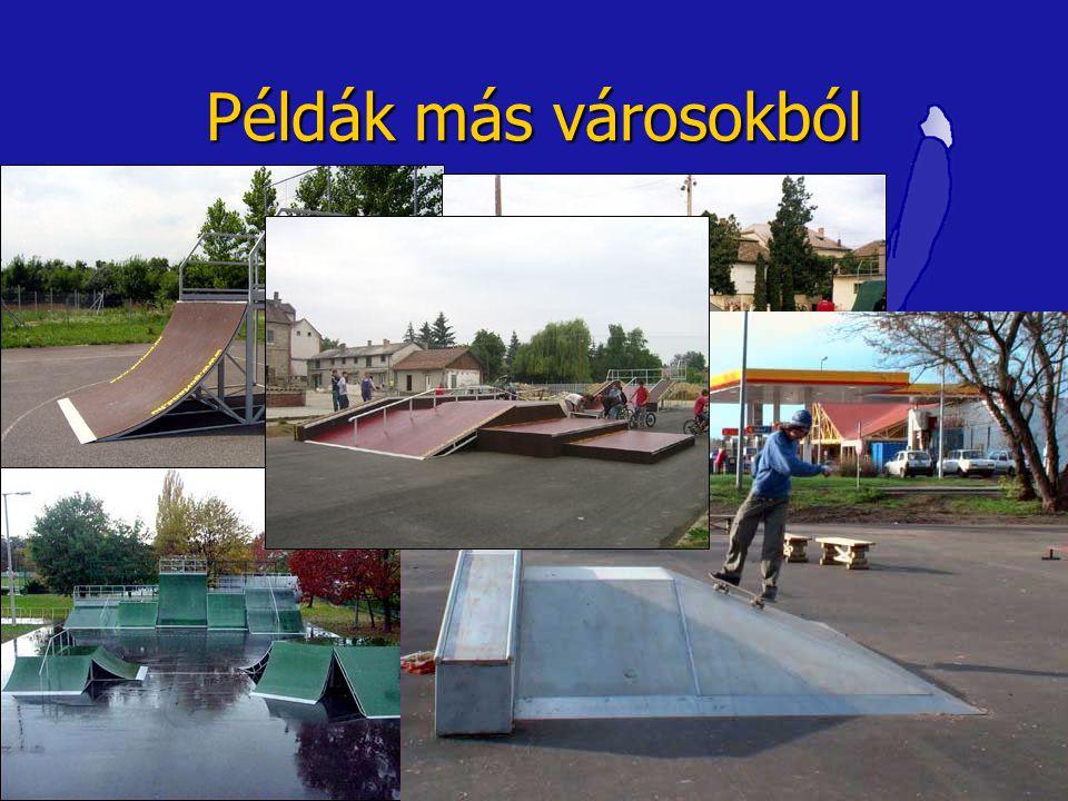 Példák más városokból