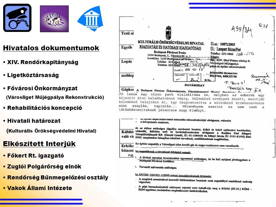 Hivatalos dokumentumok XIV.