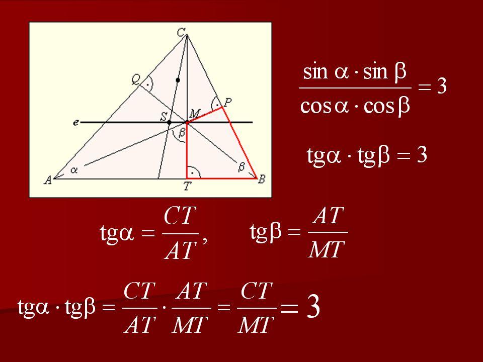 Lészen egy háromszeglemény, melliknek is két gyepüléniái azonos mértékűek vala.